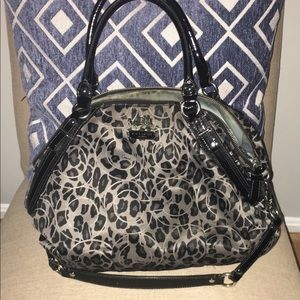 Coach Ocelot large satchel